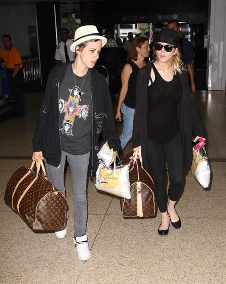 "Sam and Linds go to Cannes together in May, and are spotted canoodling. Lindsay reportedly met Sam's mom, the socialite Ann Dexter-Jones, and vacationed with their extended family in Miami. Mark Ronson slyly told the press — which was by now guessing that they were an item — ""My sister and Lindsay make a cute couple, don't they?"" Frankly, Mark, the answer was no. But it didn't mean we weren't happy for them! Seal and Heidi Klum made it work, didn't they?"