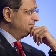 Vikram Pandit at a loss for a new name. His hedge fund group just at a loss.