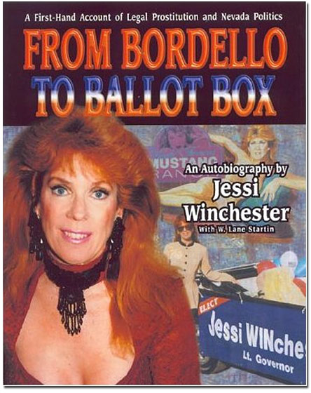 "A former (legal) prostitute at Nevada's Moonlight BunnyRanch bordello and a 53-year-old grandmother, Winchester threw her hat into the race for Congress as a Democrat in 1996. An activist for the rights of sex workers, Winchester ran on women's equality and a minimum wage. Oddly enough, though, she faced opposition from what one might assume would be her strongest ally, the Nevada Brothel Association. George Flint, an executive there, said the association had a policy ""of not constantly rubbing our existence in people's faces."" (Other things could, presumably, be rubbed in faces without objection.) Winchester lost the primary to her sole challenger with 21 percent of the vote."