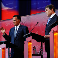 Romney and Perry.