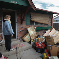A real foreclosure victim in Colorado.