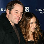 Sarah Jessica Parker and Matthew Brokerick