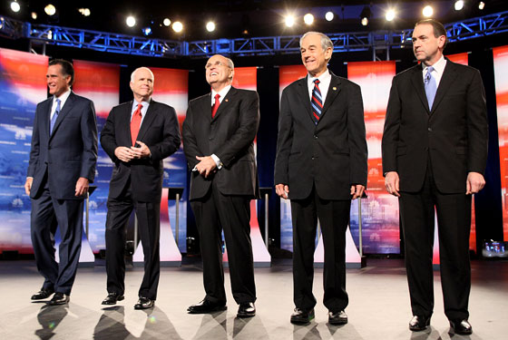 The REPUBLICAN DEBATE Made Mildly Interesting! -- Daily Intel