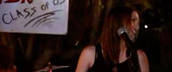Leighton Meester singing