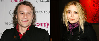Heath Ledger Mary Kate
