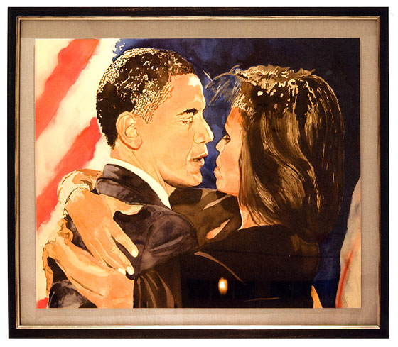 <strong><em>Barack and Michelle</em>, 2009</strong>