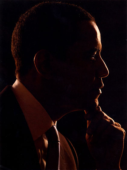 <strong><em>Obama Silhouette</em>, 2008</strong>