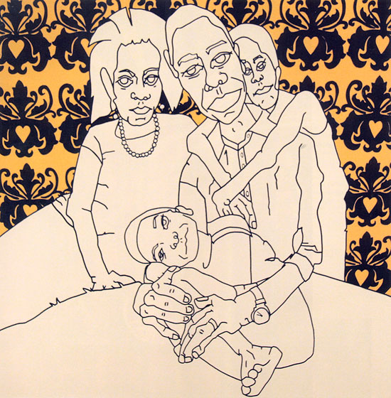 <strong><em>La Familia - Golden</em>, 2009</strong>
