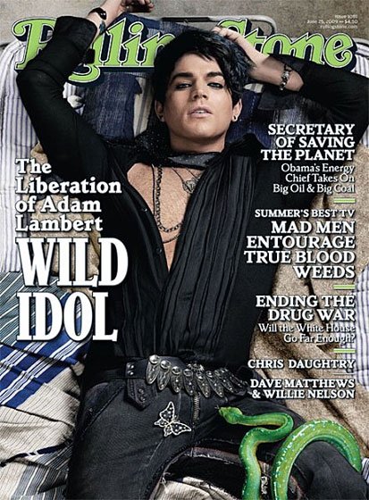 "Adam Lambert was essentially out of the closet before his first <i>Rolling Stone</i> cover, in which he confirmed his sexuality. It was a measure of his success that this news seemed a bit like an afterthought to his talent and the fact that he lost to clean-cut all-American Kris Allen in what many fans thought was a severe upset. Lambert got in trouble with <i>Out</i> magazine after his publicist asked them not to <A href=""http://nymag.com/daily/intel/2009/11/gay_mag_editor_lashes_out_at_a.html"">make him seem ""too gay.""</a> Shortly after, he was reprimanded by ABC for <A href=""http://nymag.com/daily/entertainment/2009/11/adam_lambert_is_too_sexy_for_t.html"">kissing another boy</a> onstage at the American Music Awards. Sure, him being gay is a story — but him admitting it hardly was."