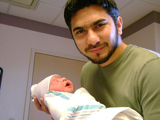 "Inside the house, Shahzad lived with his wife and children. Her <a href=""http://www.orkut.com/Main#Album?uid=2953797076931891597&aid=1"">Orkut profile</a> features pictures of Shahzad holding their baby daughter, who is depicted in other photos wearing an adorable bunny costume."