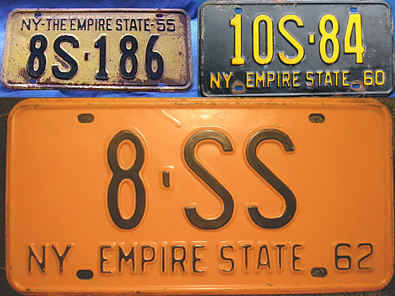 Nickname arrives: THE EMPIRE STATE. (It's trimmed to just EMPIRE STATE two years later.) <br>