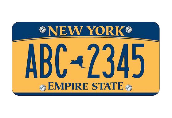 Retro! New York goes back to blue and gold, in more muted shades. Governor Paterson tries to get everyone to re-register and replace their plates with these, to generate DMV fees and help close the budget gap, but an outcry ensues and he backs down. <br>