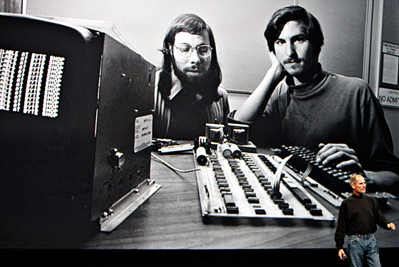 "In 1971, under the <a href=""http://www.wired.com/culture/lifestyle/magazine/16-08/howto_allison?currentPage=all"">aliases</a> Berkeley Blue and Oaf Tobark, Steve Wozniak and Steve Jobs sold ""blue boxes"" to their fellow Berkeley students that ""phreaked"" the phone system into making free calls. (Bell Systems used a 2600Hz tone for its electronic switchers and a 1971 article in <em>Esquire</em> revealed that the toy whistles <a href=""http://books.google.com/books?id=nqM_S9uAE9IC&pg=PA125&dq=steve+jobs+phreak&hl=en&ei=5Y-TTOOrAYOdlgfE2ZiqCg&sa=X&oi=book_result&ct=result&resnum=3&ved=0CDMQ6AEwAg#v=onepage&q=steve%20jobs%20phreak&f=false"">given away in boxes</a> of Cap'n Crunch also produced the 2600Hz sound.) After a run-in with the police and a buyer with a gun, the future Apple co-founders gave up."