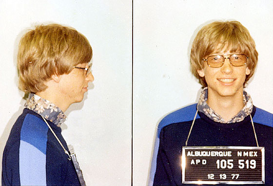 Bill Gates was still in high school when he and future Microsoftie Paul Allen