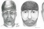 Sketches of the rapist.