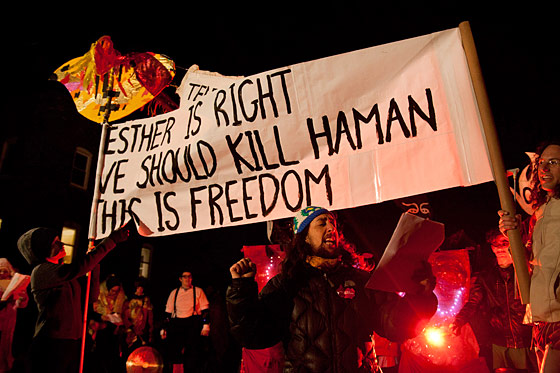 Haman to be killed for freedom.