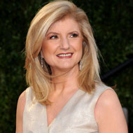 Arianna Huffington would never take from you without giving.