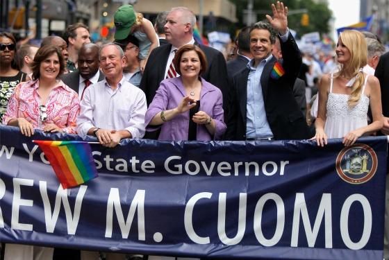 Bloomberg, Quinn, Cuomo.