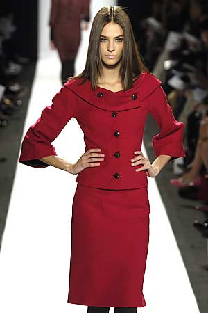 Carolina Herrera - Fall 2006 Collection :  herrera collection couture designer