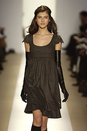 Cynthia Steffe - Fall 2006 Collection :  fashion nymag designer dress