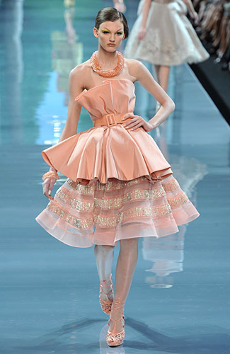 Christian Dior Couture - Christian Dior Couture - Fall 2008 Collection :  tops new york magazine flounce ny mag