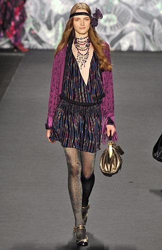 2008 f w anna sui Good style fashion show cleveland
