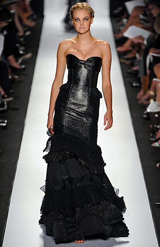Most Fabulous Looks of Spring 2009 -- Fashion Shows -- New York Magazine :  full length gown dress strapless gown