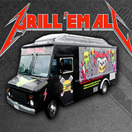 Where to Find the Grill 'Em All Truck and Its Deep-Fried Bacon Burger