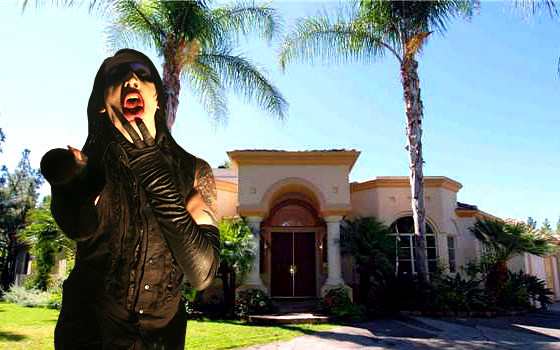 Marilyn House marilyn manson's house for sale, but $1.1 million won't buy much