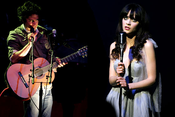 She & Him Zooe Deschanel M. Ward