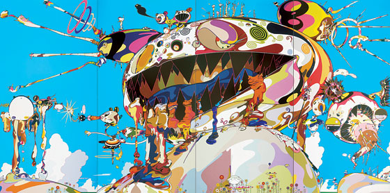 takashi murakami wallpaper. Takashi Murakami#39;s Art Is