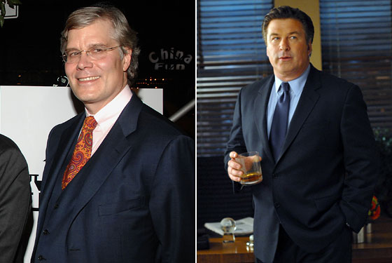 Peter Olson and Jack Donaghy