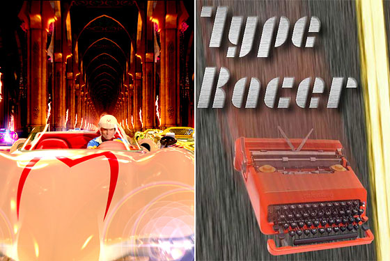 speed racer and type racer