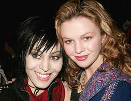 Joan Jett and Amber Tamblyn