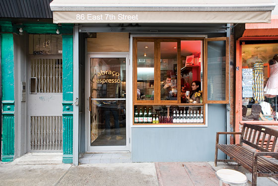 NYC's East Village is now home to Abraço