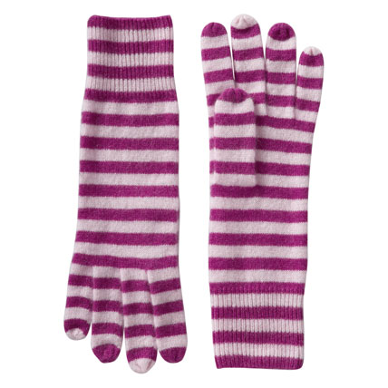 Shop-A-Matic -- Gloves, Hats, and Scarves -- Cashmere Gloves by Old Navy :  fashion outerwear nymag shop-a-matic