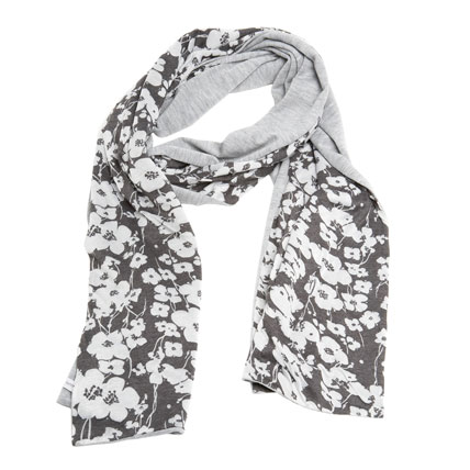 Shop-A-Matic -- Gloves, Hats, and Scarves -- Floral Print Scarf by Chris & Jaime :  steev nymag chris and jaime shop-a-matic