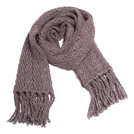 Shop-A-Matic -- Gloves, Hats, and Scarves -- Herringbone Scarf by Lutz & Patmos :  herringbone scarf nymag taupe shop-a-matic