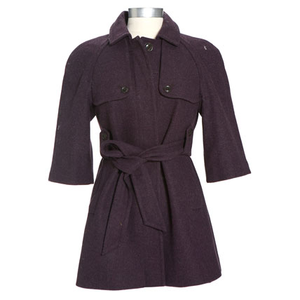 Shop-A-Matic -- Fall Outerwear -- Belted Coat by Gap :  coat fall fall outerwear cinched waist