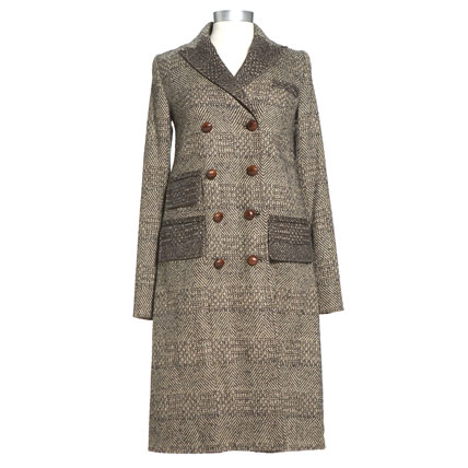 Shop-A-Matic -- Fall Outerwear -- Long Dietrich Coat by Diane Von Furstenberg :  long dietrich coat fall fall outerwear diane von furstenberg